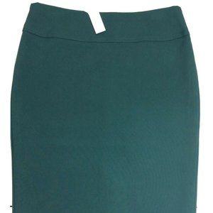 NEW TALBOTS Size 4 Green Pencil Skirt